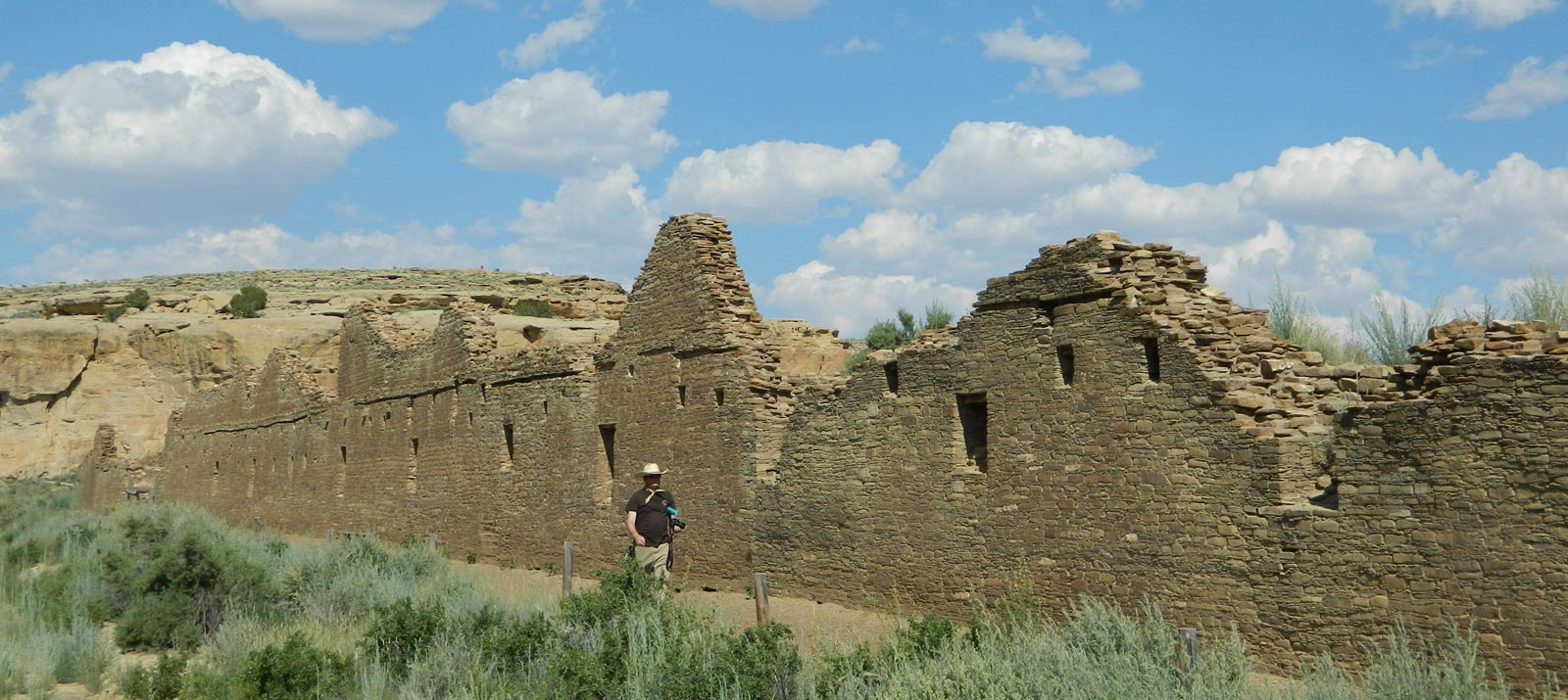 Ancient Pueblo Walls