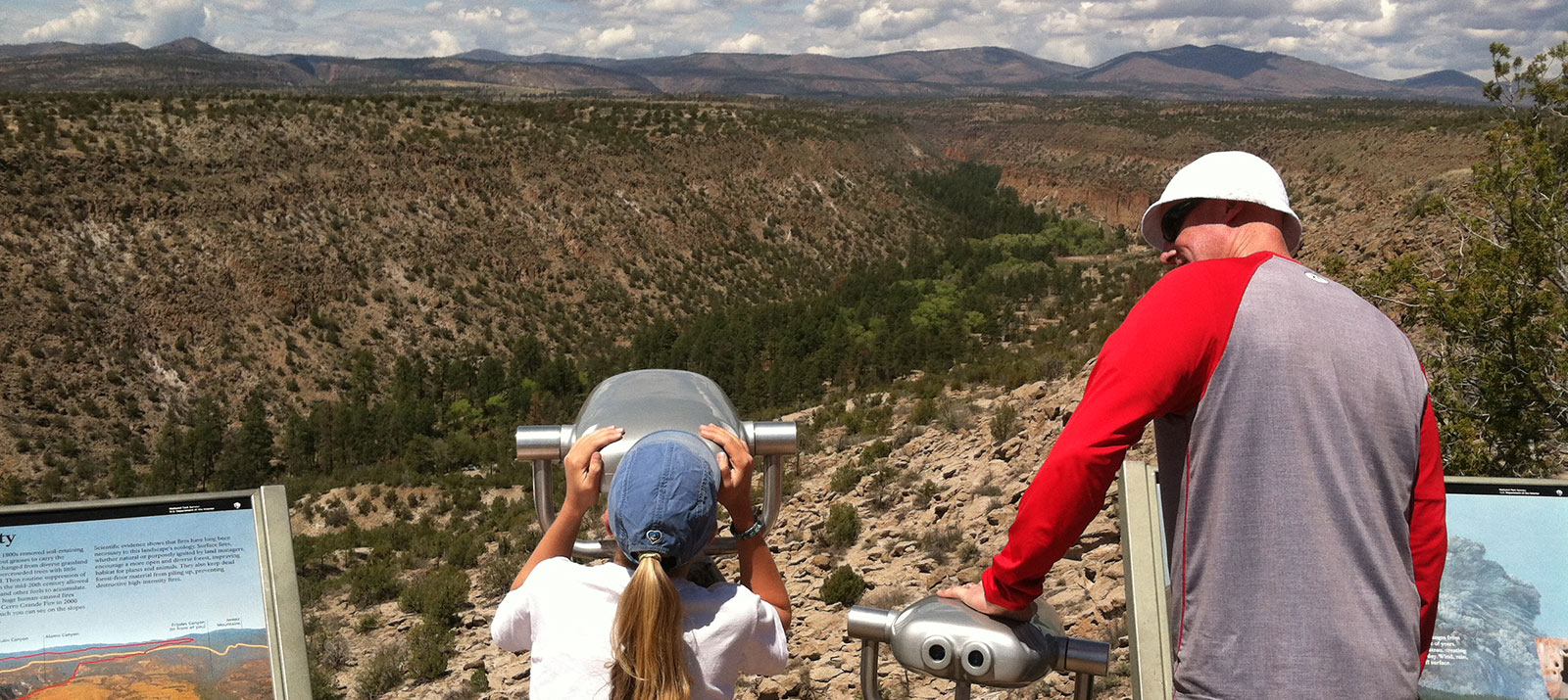 Families Enjoying Bandelier